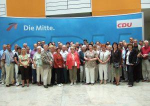 Lorscher CDU besucht die Bundeshauptstadt Berlin