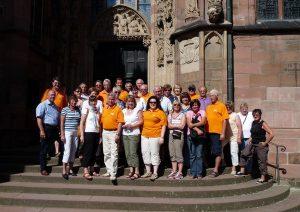 Politische Radtour 2009 führt die Lorscher CDU nach Worms