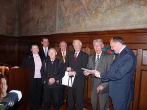CDU Lorsch ehrt beim Neujahrsempfang 2011 langjährige Mitglieder