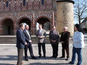 Besuch von Staatsminister Bernd Neumann