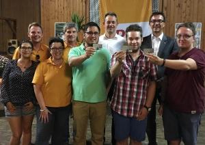 Lorscher Christdemokraten feiern traditionelles Sommerfest im Depot