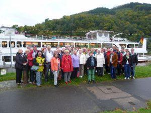 Tagesfahrt 2012 der Lorscher CDU führte an die Mosel