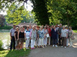 Tagesfahrt 2013 führte nach Seligenstadt und Aschaffenburg
