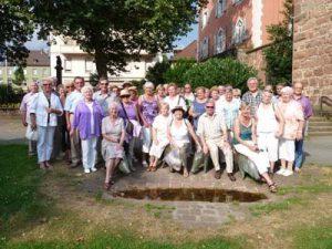 CDU Halbtagestour auf dem Neckar & Besuch von Eberbach