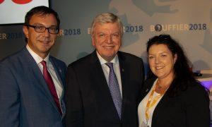 Besuch von Ministerpräsident Volker Bouffier am 01.10.2018 in Zwingenberg