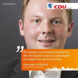 CDU plädiert für weitere Maßnahmen in der Corona-Krise
