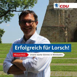 831.000 Euro Ausgleichzahlung für Lorsch