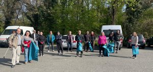 Team CDU bei der Frühjahrsputzaktion der Stadt Lorsch