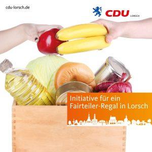 CDU Antrag: Initiative für ein Fairteiler-Regal in Lorsch