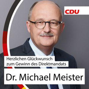 Glückwunsch, Dr. Meister!